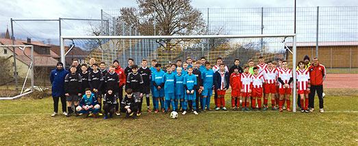 C-Jugend-Fußballmannschaft 2019